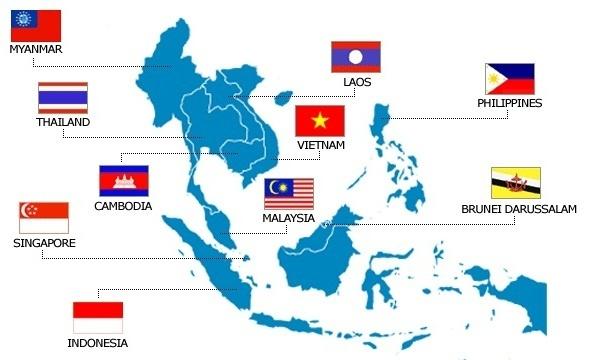 กลุ่มประเทศอาเซียน